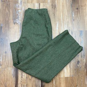 PENDLETON Vintage Green Wide Pants Trousers 12